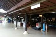 Koh Samui Airport - Departure Hall Entrance