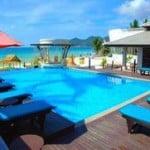 Al's Resort pool area
