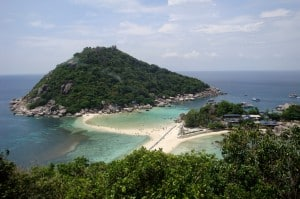 Koh Nangyuan visted by Koh Samui Snorkeling Tours