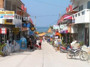 Street life in Koh Tao
