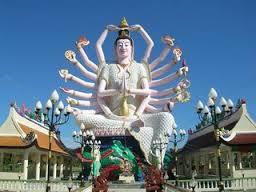 Private Koh Samui Rundfahrt - Besuch von Wat Laem Tempel