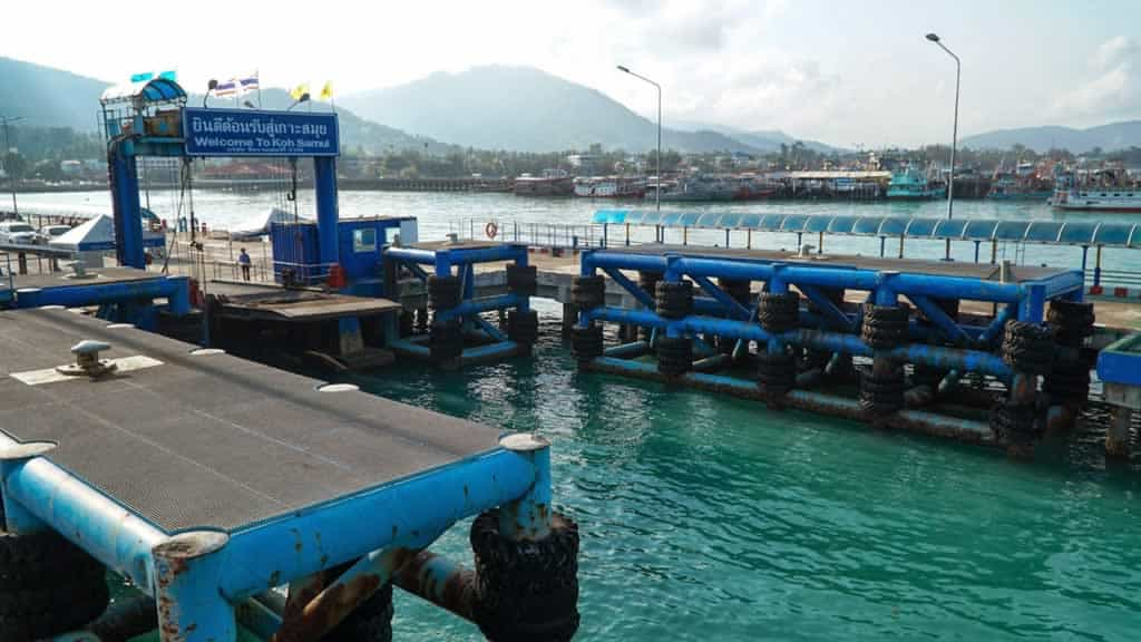 Ferry Piers on Samui Island Easy Day Samui Tours Transfers