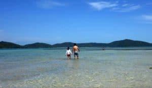 Koh Tan Clear waters